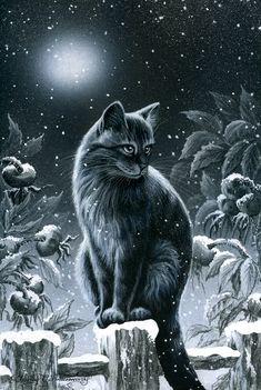 In A Winter Garden by Irina Garmashova