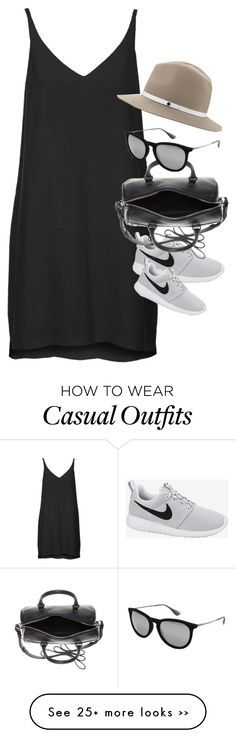 """""""Inspired outfit for a casual day in summer"""" by whathayleywore on Polyvore"""