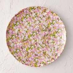 Lilac Blossom Melamine Dinner Plate in New Outdoor Living at Terrain