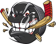 Illustration of Hockey emblem with skull and crossed hockey sticks over puck with the words Drop The Puck. Easy to edit and scalable vector illustration. team mascots, posters, etc. vector art, clipart and stock vectors. Hockey Puck, Ice Hockey Sticks, Hockey Drawing, Emoji Craft, Hockey Decor, Stock Foto, Painting For Kids, Easy Drawings, Illustration