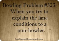 Bowling Problems