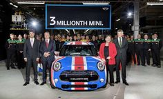 Mini Cooper 3 million cars