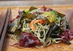 Want to learn to make a seaweed salad recipe from dried seaweeds you can buy in the store. No need to buy packaged seaweed salad mixes, make your own fresh from high quality sea vegetables.