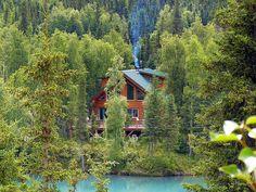 Alaska Kenai River Cabin......