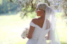 Hélène & JeanStephan   Film & Photography - @mariemarrymeinc   Wedding Gown & Shoes - @rosaclara   Wedding Planner & Designer - @HappilysEvents #bride#mariée#bridal#veil#bouquet#mariage#wedding#blonde#natural#light #gown #dentelle #noiva#chic#vintage#chateaudepuyrobert#happilysevents#mariemarryme