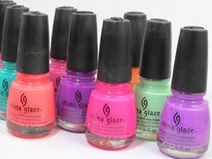 China Glaze Sunsational Collection Review, Photos, Swatches