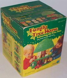 KENNER: 1975 Tree Tots Family Tree House #Vintage #Toys
