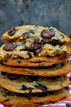 XXL Brown Butter Chocolate Chunk Cookies