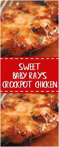 Sweet Baby Ray's Crockpot Chicken – Fresh Family Recipes