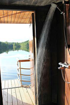 Vesi virkistää! sauna