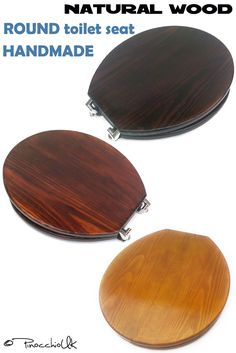 It is completely handmade. All parts are polished, and have a smooth surface. Each toilet seat is unique in texture as it is made of natural wood. Buying a toilet seat, you are buying a unique item with high quality that will serve you for many years.