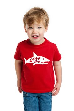 Valentine's Day shirts for boys - so cute!