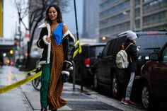 Streetstyle at New York Fashion Week Autumn 2017 (Source: Hugo Lee)