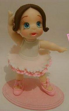 MC modelado de la bailarina-gumpaste bailarina tutorial - Clases magistrales para la decoración de torta de decoración de tortas Tutoriales (Cómo hacer) Tortas Paso a Paso