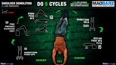 A bodyweight workout infographic