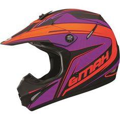 GMax GM46.2X Coil Helmet - Matte Black Flo Orange