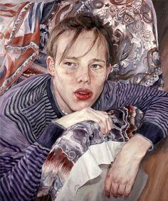 Portrait Of David, 17 Years Old by Annalisa Avancini (1973, Italian)