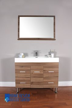 Modern Bathroom Vanities Port Moody buy this 40 inch bathroom vanity with an open bottom shelf for