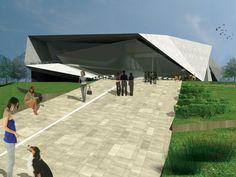 Belgrade_view01 Museum Architecture, Belgrade