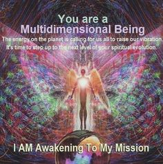 """I am awakening to my mission""   No matter the emotions that arise There are things that need to be done"