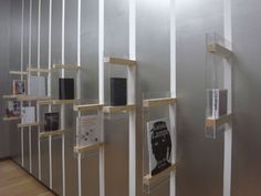 irma boom: best designed book at stedelijk museum - designboom Exhibition Display, Exhibition Space, Exhibition Ideas, Exhibition Stands, Display Design, Booth Design, Design Design, Signage Design, Store Design