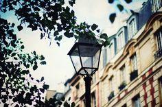 street lamps in paris