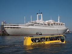 Splashtour, Rotterdam. passing SS Rotterdam.
