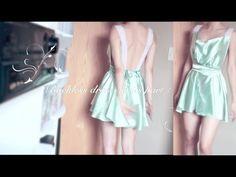 DIY-Backless dress Series part 1 of 4