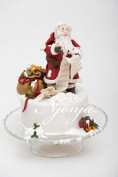 Our Christmas cake. - Cake by Njonja