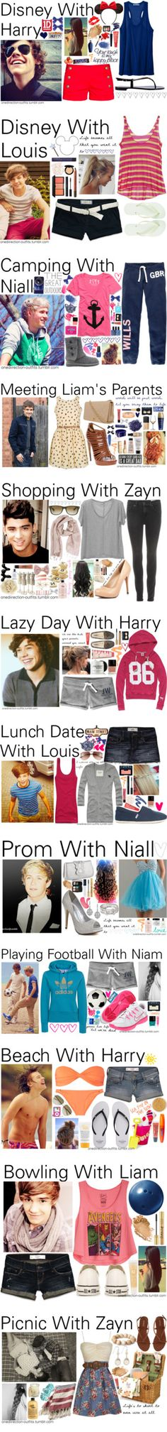 """One Direction Outfits 0 - 20 x"" by onedirection-outfits ❤ liked on Polyvore"