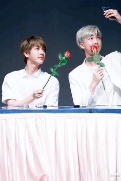 BTS Jin and Rap monster | namjin