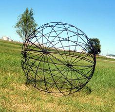 Sampling - Garden Trellis sculpture..