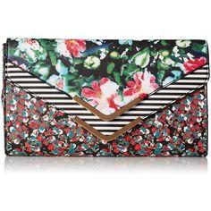 Aldo Feenstra Clutch ($40) found on Polyvore featuring bags, handbags, clutches, aldo clutches, aldo purses, aldo handbags and aldo