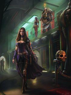 WH40K: Enter The Witch Finder by Jorsch on DeviantArt