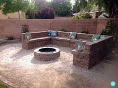Build Your Own DIY Fire Pit Build yourself a home diy outdoor firepit. These are incredible to transform your backyard. I think these are incredible and with summer only sround the corner you definatly want to get building your own. Spend those summer nights outdoors warm by a fire. Simple to build anyone can do…