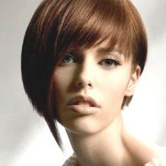 Asymmetric hairstyle - love