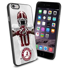Alabama Crimson Tide NCAA Iphone 6 Silicone Skin Case Rubber Iphone 6 Case Cover WorldPhoneCase http://www.amazon.com/dp/B00VFW6R8G/ref=cm_sw_r_pi_dp_QaImvb1J1W7Y8