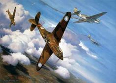 Christmas Over Rangoon by Roy Grinnell Christmas Day 1941 dawned hot and muggy in Rangoon, Burma. Ww2 Aircraft, Fighter Aircraft, Military Aircraft, Fighter Jets, Military Art, Military History, Military Diorama, War Thunder, Aircraft Painting