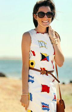 Nautical ⚓*¨*•.¸¸⛵*¨*•.¸¸ ⚓ Dress