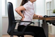 Businesswoman Having Backpain