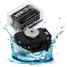 The Monster Magnetics Mini GPS Tracker Magnet Mounting Case. Although most clients use it for GPS devices, it doubles as a magnetic stash box for spare set of keys, a secret money stash, jewelry, meds, or any other small valuables that you need to keep secure, dry, and hidden. http://www.amazon.com/Waterproof-GPS-Tracker-Magnetic-Case/dp/B00KC70B2I
