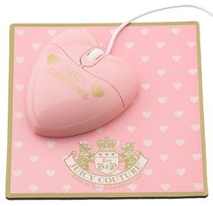 Juicy Couture | Juicy Couture Mouse and Mouse Pad Set: Love It or Leave It?