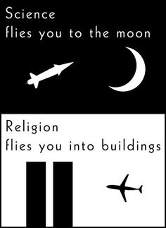 // Science flies you to the moon...