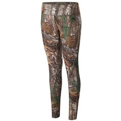 Women's Terramar Stalker Camo Base Layer Leggings,