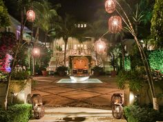 Party planner Bronson van Wyck transformed Hilary and Galen Westons oceanfront villa into a magical setting to celebrate the paintings and monotypes by Per Kirkeby.