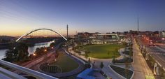 Riverfront Park & Ascend Amphitheater | Architect Magazine | Hodgetts + Fung Design & Architecture, Smith Gee Studio, Hawkins Partners, Nashville, Tennessee, USA, Cultural, Planning, New Construction, Cultural Projects, Nashville-Davidson-Murfreesboro, TN