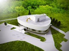 Mobilis Interactive Exhibition Building / Építész Stúdió