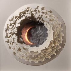 Beautiful Illuminated Cut Paper Sculptures by Nermin Er