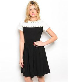 #smbfaves Black And White Tee Dress | SexyModest Boutique