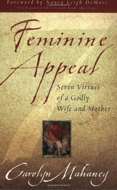 One of the best Christian women's books on marriage:  Feminine Appeal (New Expanded Edition with Questions) by Carolyn Mahaney, http://www.amazon.com/dp/1581346158/ref=cm_sw_r_pi_dp_PQ0Tpb18PCM4Q